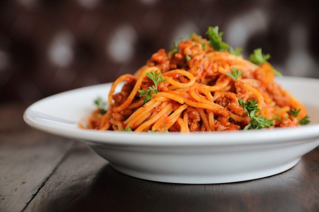 糖質が多く太りやすい食べ物 スパゲッティ